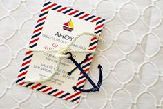 Sneak Peek of Stylish Kids' Parties Book by Kelly Lyden: Classic Nautical Party Ideas #stylishkidsparties #whhostess #nautical #preppy #sailboat #stripes #boyparties #kidsparties