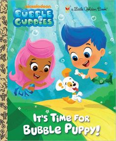 Bubble Guppies book. I love this cartoon.
