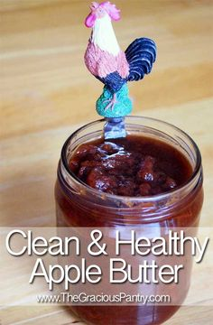 Clean Eating Apple Butter