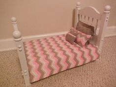 18 inch Doll Bedding  Quilt set by HoleInMyBucket on Etsy, $25.00