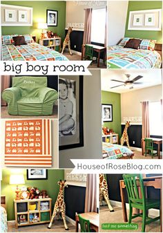 {Big Boy Room} The Re-do: From Toddler to Kindergartner ( Looks like My son is getting an upgraded room soon!!! )