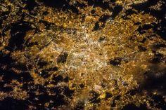 (frame it)   Paris at Night (NASA, International Space Station, 04/07/13) | Flickr - Photo Sharing!