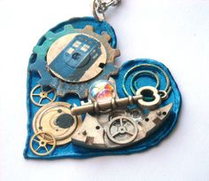 Doctor Who Gallifreyan Valentine Necklace