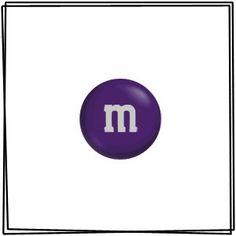 Purple M&M's - 2 Lbs