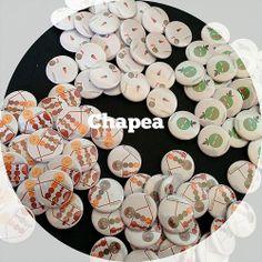 Chapas de 31 mm, #chapas #Chapea