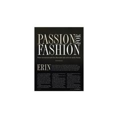 Passion For Fashion | Utah Valley Magazine ❤ liked on Polyvore