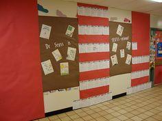 Dr. Seuss Bulletin Board Classroom walls - Large Hats