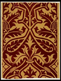 Wallpaper (1850-1851)   Augustus Welby Northmore PUGIN  V Collection