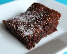 Kahlua-Cinnamon Brownies via @Rachel chocol valentin, sweet treat, brownie recipes, kahlua cinnamon, chocolates, decad chocol, decadent chocolate, kahluacinnamon browni, dessert