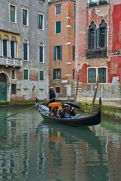 Venice Canal in Winter