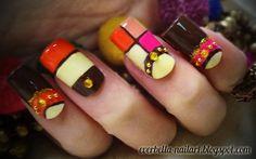 Color Blocking by everbella - Nail Art Gallery nailartgallery.nailsmag.com by Nails Magazine www.nailsmag.com #nailart
