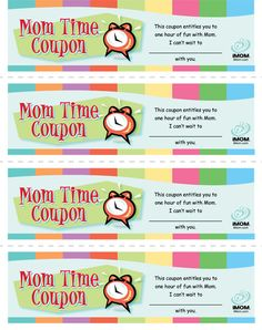 Mom Time Coupons