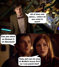 To Moffat's house!