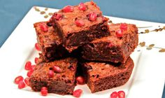 How to Make Chocolate Pomegranate Brownies | The Daily Meal