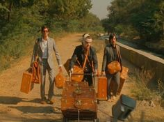 The Darjeeling Limited, luggage