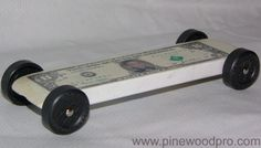 Pinewood Derby Car - Money