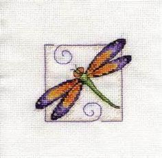cross stitch patterns free dragonfly