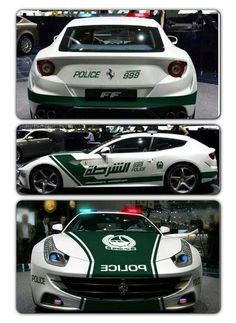 A New Ferrari FF completes the fleet of Dubai Police if only this was real