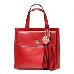 Coach Legacy American Icons Pocket Tote