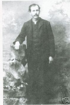 Doc Holliday Last Picture in 1887