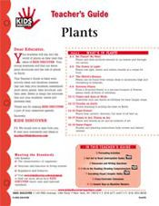 FREE 12-page downloadable Lesson Plan for Kids Discover Plants.
