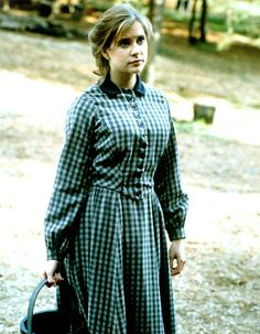 Kellie Martin in the series, Christy, the first and last mainstream TV show (it aired on CBS) to allow God to be the foundation...
