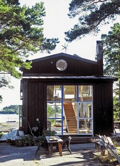 my scandinavian home: A lovely relaxed cabin in the Stockholm archipelagos