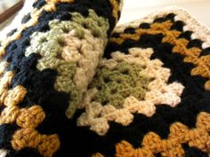 Little House Needleworks: Do you remember my Granny Square Afghan?