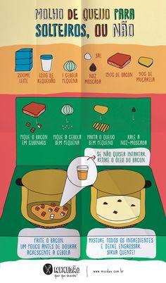 Molho de queijo  - Receita Ilustrada