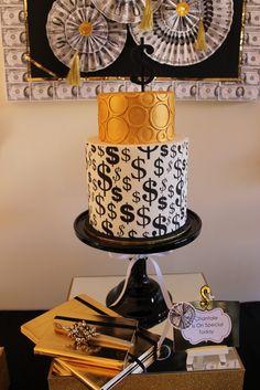 Nice money cake. #cake #money