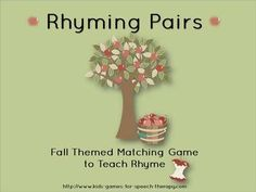 Apple Picking Rhyme  - Pinned by @PediaStaff – Please Visit  ht.ly/63sNt for all our pediatric therapy pins