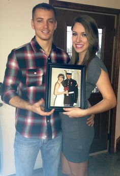 every anniversary, take a picture with a photo from your last anniversary. awesome idea!