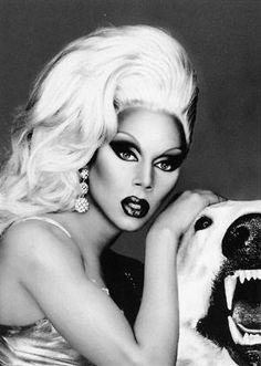 RuPaul (drag queen, model, actor, author, and singer-songwriter)