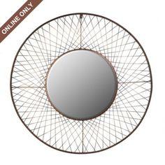 "Jackson Mirror   Kirkland's - 36"" diameter - $50"