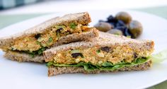 Tofu Eggless Salad (adapted from Pickles & Honey)
