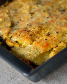 #Recipe: Vegetable Lasagna with Butternut Béchamel