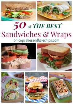 50 of The Best Sandw