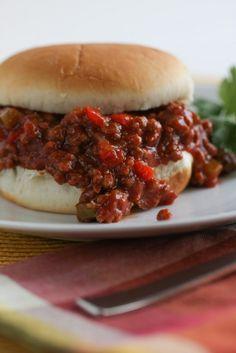 Barbecue Sloppy Joe's | foodnfocus.com