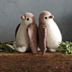 Felt Penguin Ornament | west elm  MUST HAVE !!!!