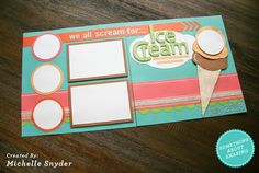IceCream Layout