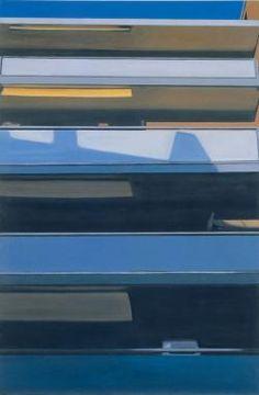 Eberhard Havekost  Untitled  1997  Oil on Canvas via saatchi gallery