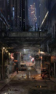 Atmosphere, Dark Future, Dystopia, Underpass