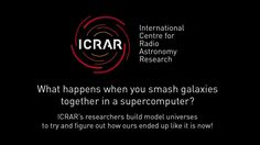 ICRAR has a talented team of cosmological simulators that make giant sections of Universes inside computers to see what happens when you change physics slightly. They're trying to replicate what the real Universe looks like inside a computer to help us understand how we got to be the way we are today. This video shows a selection of some of their simulations.