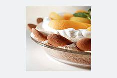 Peach-Topped Angel Pie