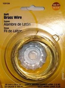 Bug Out Bag Gear: Snare Wire 24 gauge brass 50-100ft this fine wire is great for snares and trapping. Also good for binding and repairs.