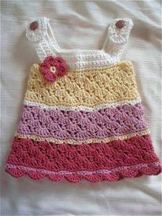 dress patterns, craft, crochet dresses, crochet jumper, crochet girl