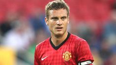 Manchester United captain and centre-back Nemanja Vidic is ruled out for eight weeks following knee surgery.