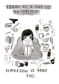 Tomorrow is good, too.
