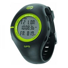Take your pedometer up a notch! Track your distance, speed, and calories with this GPS-enabled night watch for running.