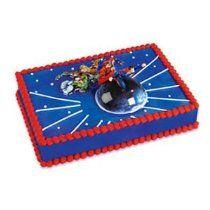 Flying Superman Cake Topper 3pc Kit